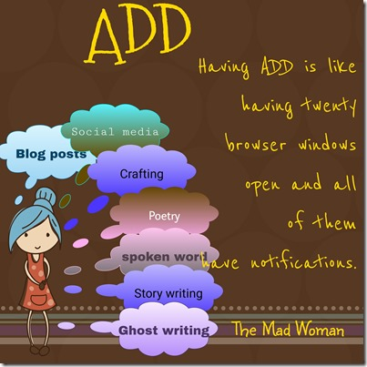 living with ADD, Attention Deficit Disorder, Browser windows