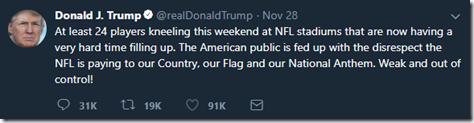 Trump NFL